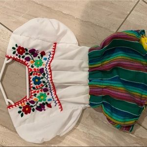 Toddler Mexican outfit